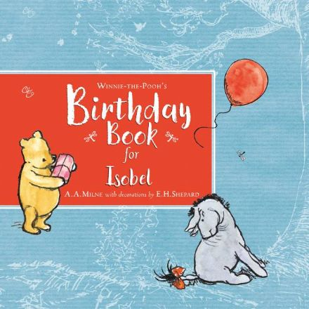 Personalised Winnie-the-Pooh Birthday Book